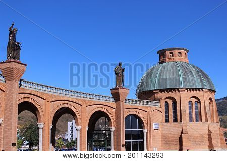 Architecture of the Basilica of Our Lady Aparecida