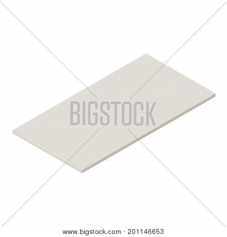 Drywall icon. Isometric illustration of drywall vector icon for web