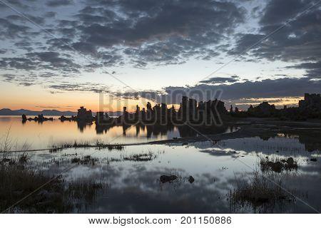 Sunrise At Mono Lake Tufa State Reserve
