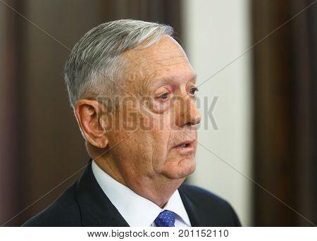 Us Secretary Of Defense James Norman Mattis