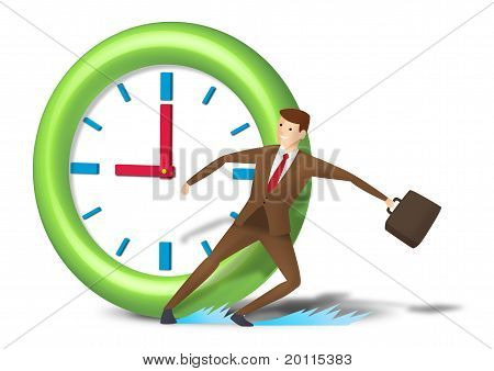 Rushing executive skid and reach on time