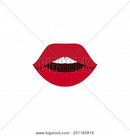 Teeth Vector Element Can Be Used For Pomade, Teeth, Mouth Design Concept.  Isolated Pomade Flat Icon.