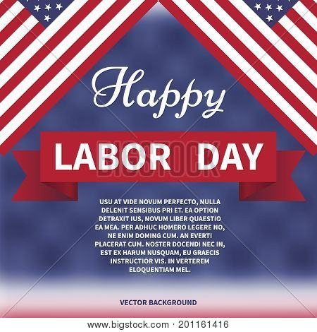 happy labor day American labor day horizon background