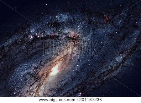 Messier 66 Is An Spiral Galaxy In The Constellation Leo.