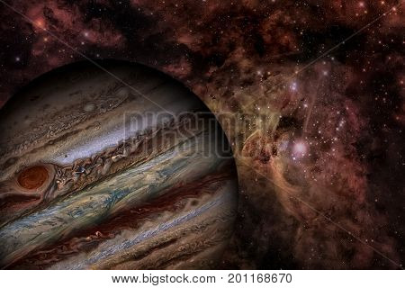 Solar System - Jupiter. It Is The Largest Planet In The Solar System.
