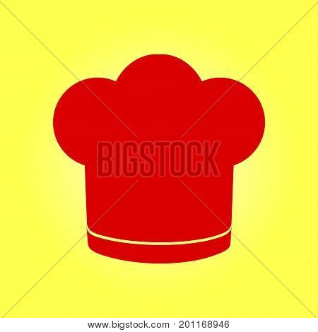 Chef hat sign icon. Hat cooking symbol.