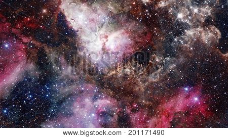 Remnant Of The Supernova Explosion. Elements Of This Image Furnished By Nasa