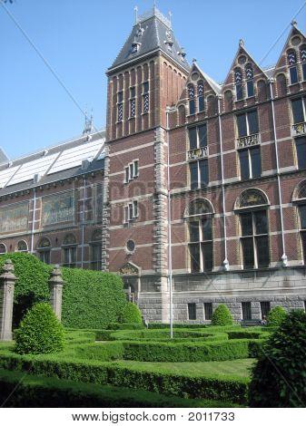 Facade Of The Rijksmuseum