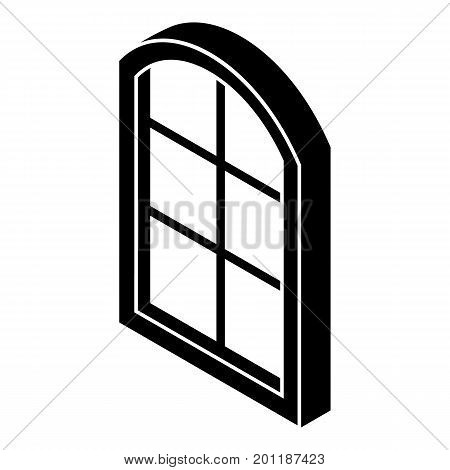 Close window frame icon. Simple illustration of close window frame vector icon for web