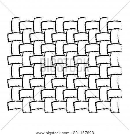 monochrome blurred silhouette of macro seamless textile pattern vector illustration