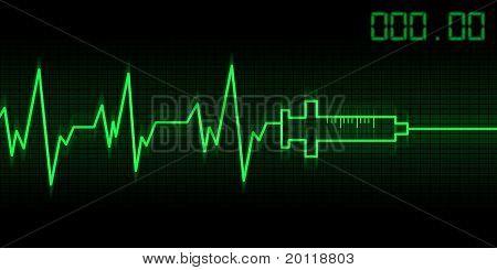 Drug Addictive Heartbeat