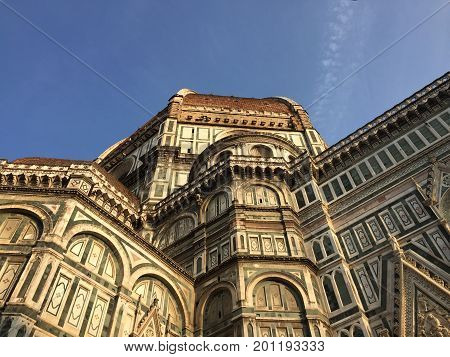 santa maria del fiore cathedral, florence, italy,