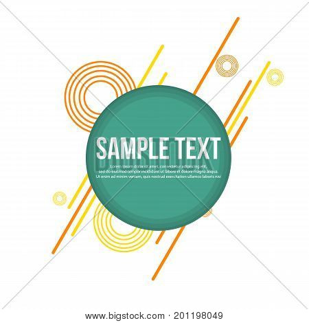 Abtract background style geometric collection vector illustration
