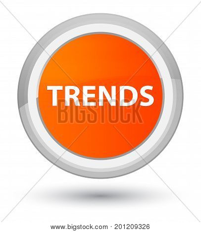 Trends Prime Orange Round Button