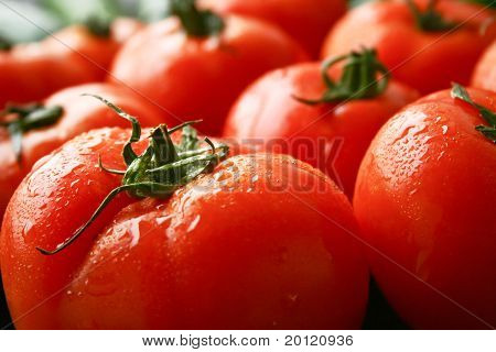 Tomatoes fruit