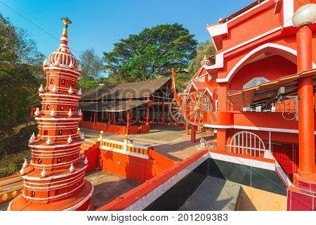 Maruti Temple (hanuman Temple) In Panjim