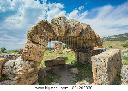 Arches In Pamukkale