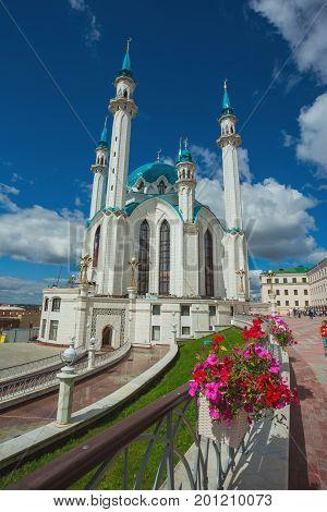 Muslim Mosque  In The Kazan Kremlin