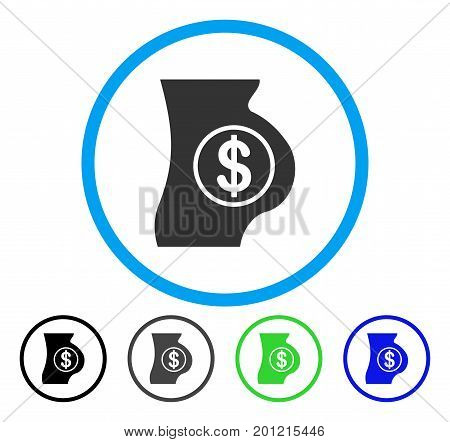 Surrogacy rounded icon. Vector illustration style is a flat iconic symbol inside a circle, black, gray, blue, green versions. Designed for web and software interfaces.