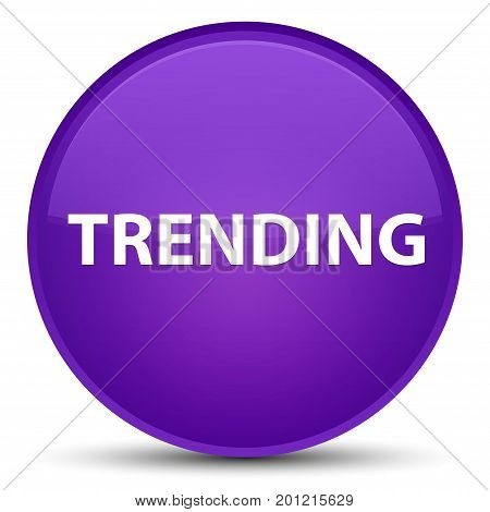 Trending Special Purple Round Button
