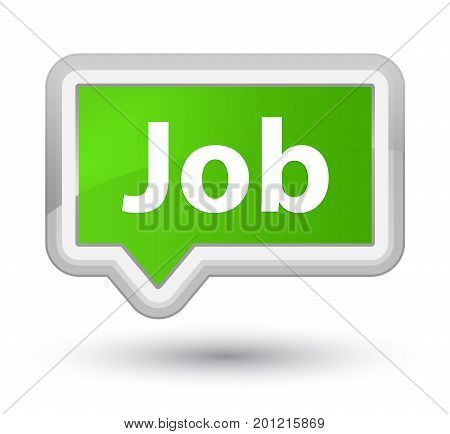 Job Prime Soft Green Banner Button