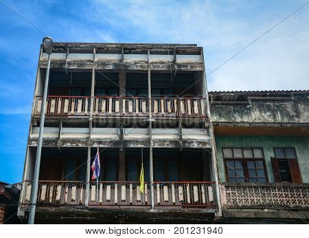 Old Buildings In Chiang Mai, Thailand