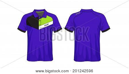 vector of templates colored t-shirts polos,T-shirt sport design,soccer t-shirt for football club