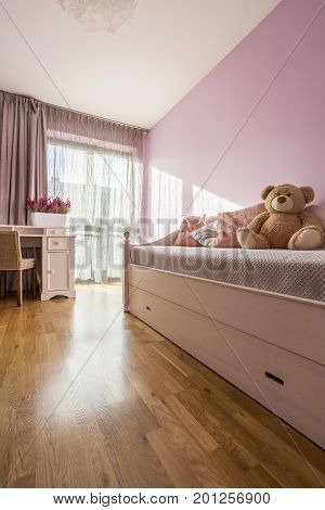 Lilac Girly Bedroom