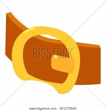 Modern belt icon. Isometric illustration of modern belt vector icon for web