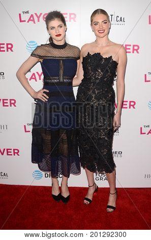 LOS ANGELES - AUG 23:  Alexandra Daddario, Kate Upton at the