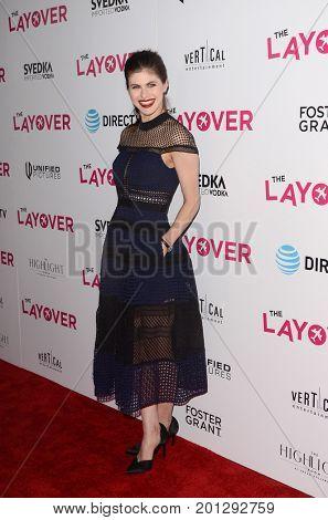 LOS ANGELES - AUG 23:  Alexandra Daddario at the