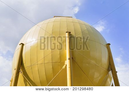 Storage Tank Of Industrial Oil Mill
