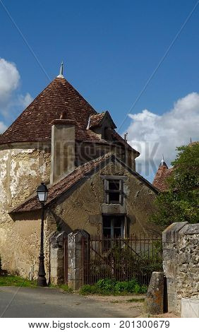 Old Gatehouse to a medieval French chateau