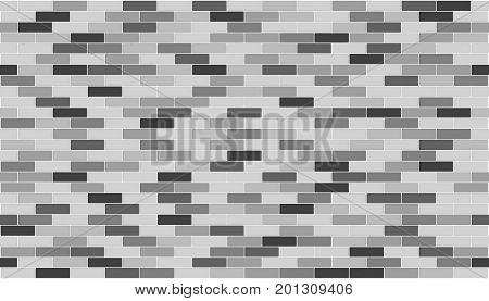 3d render of bricks texture with white gap