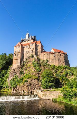 Kriebstein Castle In Saxony, Germany