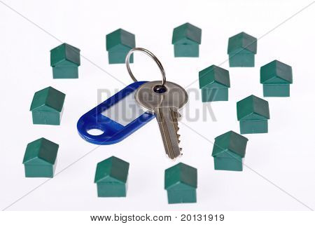 Keys for you new home .