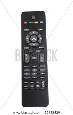 Tv remote control separate white
