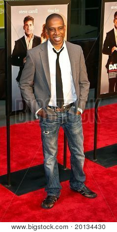 "NEW YORK - APRIL 6: Actor Keith Powell arrives on the red carpet for the premiere of ""Date Night"" on April 6, 2010 in New York City."