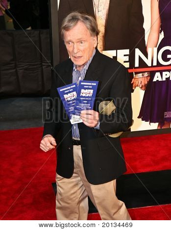 "Talk show host Dick Cavett attends the movie premiere of ""Date Night"" at the Ziegfeld Theatre on April 6, 2010 in New York City."