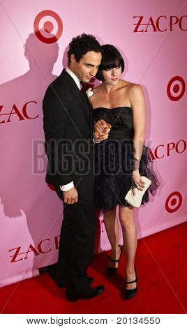 NEW YORK - APRIL 15: Designer Zac Posen and actress Selma Blair attend the Zac Posen for Target Collection launch party at the New Yorker Hotel on April 15, 2010 in New York City.
