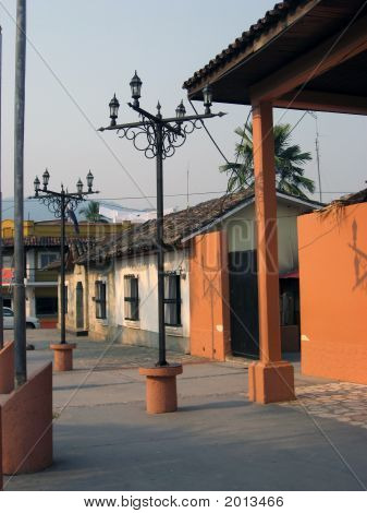 Street Lights In Copan