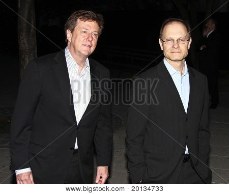 NEW YORK - APRIL 20: Actor David Hyde Pierce arrives at New York State Supreme Court for the Vanity Fair party during the 2010 TriBeCa Film Festival on April 20, 2010 in New York City.