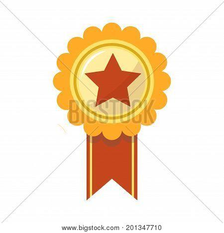 ribbon award golden vector photo free trial bigstock