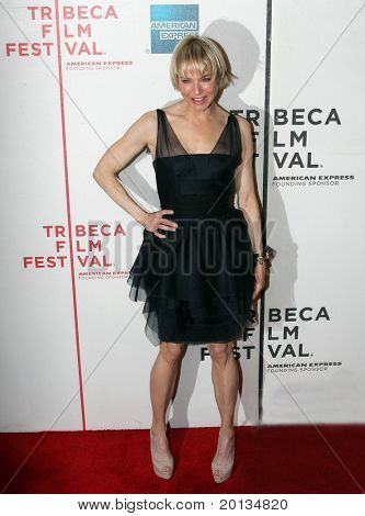 """NEW YORK - APRIL 22: Actress Renee Zellweger attends the premiere of """"My Own Love Song"""" during the 2010 TriBeCa Film Festival at the TriBeCa Performing Arts Center on April 22, 2010 in New York City."""