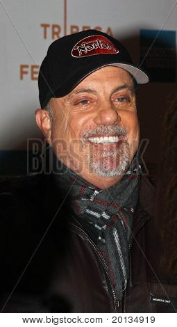 """NEW YORK - APRIL 25: Musician Billy Joel attends the premiere of """"Last Play at Shea"""" at the TriBeCa Performing Arts Center during the 2010 TriBeCa Film Festival on April 25, 2010 in New York City."""