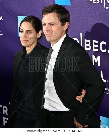 """NEW YORK - APRIL 27: Summer Phoenix and Casey Affleck attend """"The Killer Inside Me"""" premiere at the School of Visual Arts Theater at the 2010 TriBeCa Film Festival on April 7, 2010 in New York City."""