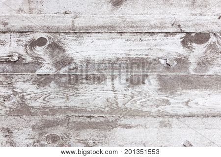 Gray Textured Concrete Wall With Impress From Wooden Planks