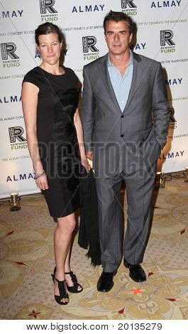 NEW YORK - MAY 13 : Christopher Noth attends the Almay Concert to celebrate the Rainforest Fund's 21st birthday at the Plaza Hotel on May 13, 2010 in New York City.