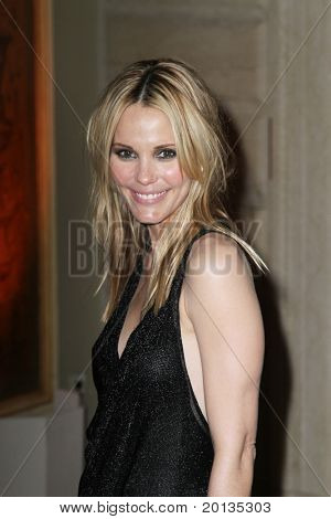 NEW YORK - MAY 13 : Actress Leslie Bibb attends the Almay Concert to celebrate the Rainforest Fund's 21st birthday at the Plaza Hotel on May 13, 2010 in New York City.