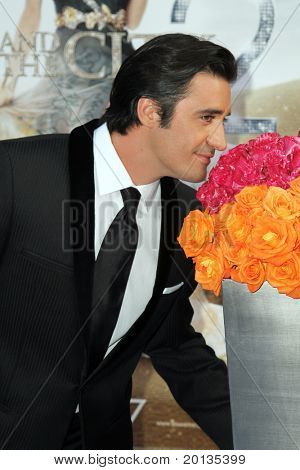 """NEW YORK - MAY 24: Actor Gilles Marini attends the """"Sex and the City 2"""" movie premiere at Radio City Music Hall on May 24, 2010 in New York City."""